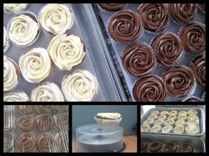 Woots! Eggless cupcakes that hardly misses an egg :D (I stole a pic from Auntie Maureen's page)