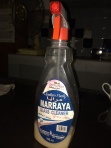 "Old spray can, water and dettol jam. Also, lol at ""Maaraya"" :D"