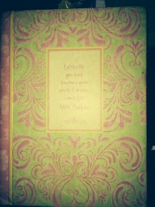 My present journal! Been using it since 2009, shows how often I write noh.