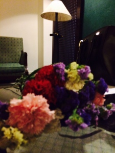 Lookie. Vositha gave me flowers after the end of the workshop. SO MUCH LAU <3