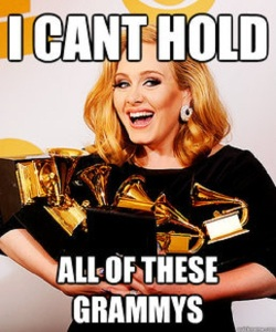I don't really like Adele. (c) Google Images gave that.