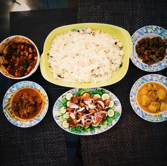 Food = family.
