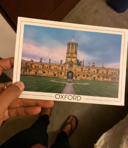 Postcard from Oxford