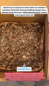 Chocolate biscuit pudding cake